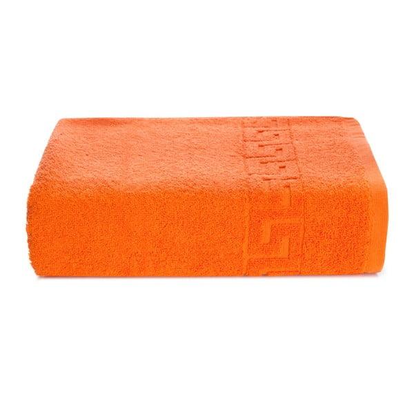 Oranžová bavlněná osuška Kate Louise Pauline,70x140cm