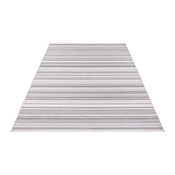 Světle šedý koberec vhodný i na ven Elle Decor Secret Calais, 140 x 200 cm