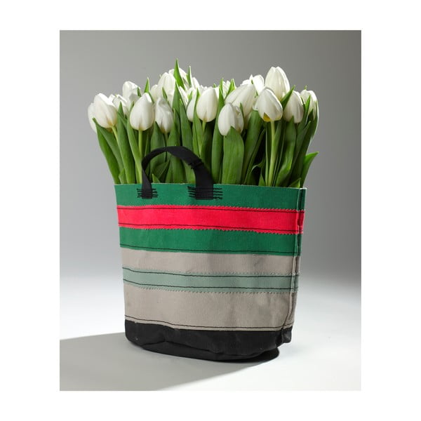 Sada 3 plátěných košíků Marie Lines, 22 cm