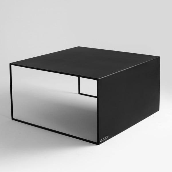 Černý konferenční stolek Custom Form 2Wall, délka80cm