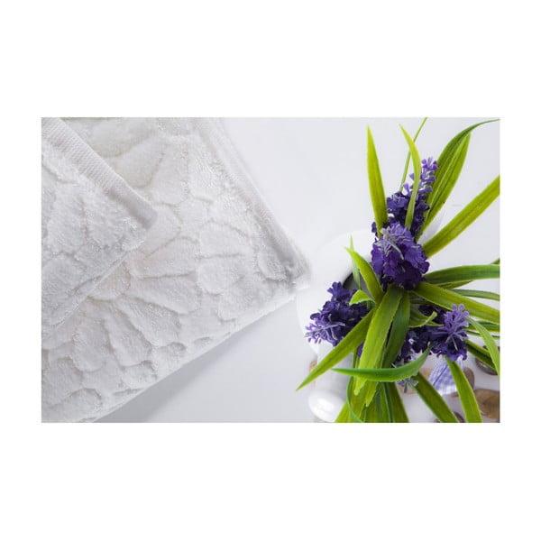 Set dvou ručníků Samba Ecru, 70x140 a 50x90 cm