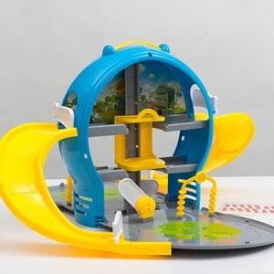 Dětský hrací parkovací dům v kufříku InnovaGoods Car Park With Case