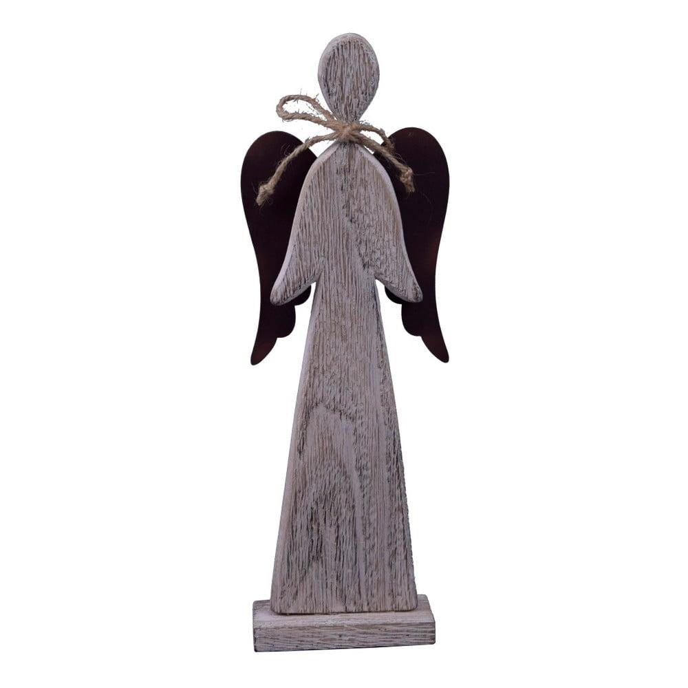 Dekorativní anděl Ego Dekor Nina, výška 29,5 cm