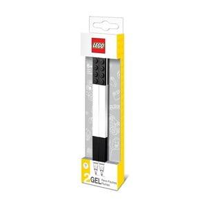Sada 2 černých gelových per LEGO®