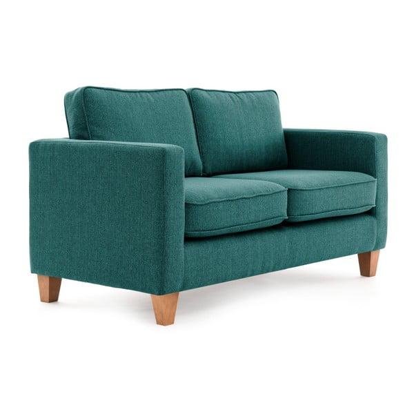 Turkusowa sofa 2-osobowa Vivonita Sorio