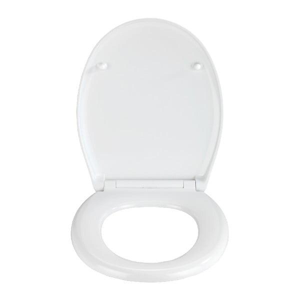 WC sedátko se snadným zavíráním Wenko Easy Concrete, 44,5 x 37 cm