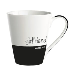 "Porcelánový hrnek ""World's best girlfriend"""