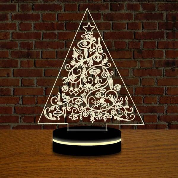 Vánoční LED lampa s 3D efektem Christmas Tree