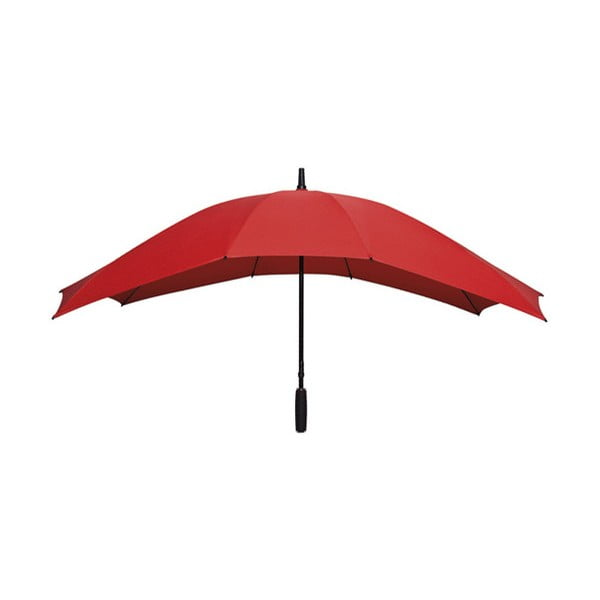 Obdélníkový deštník pro dva lidi Ambiance Falcone Red