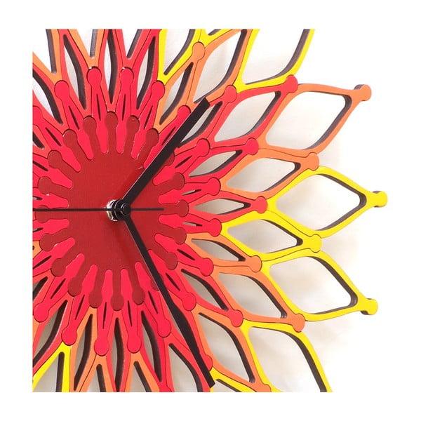 Dřevěné hodiny Fireworks , 41 cm