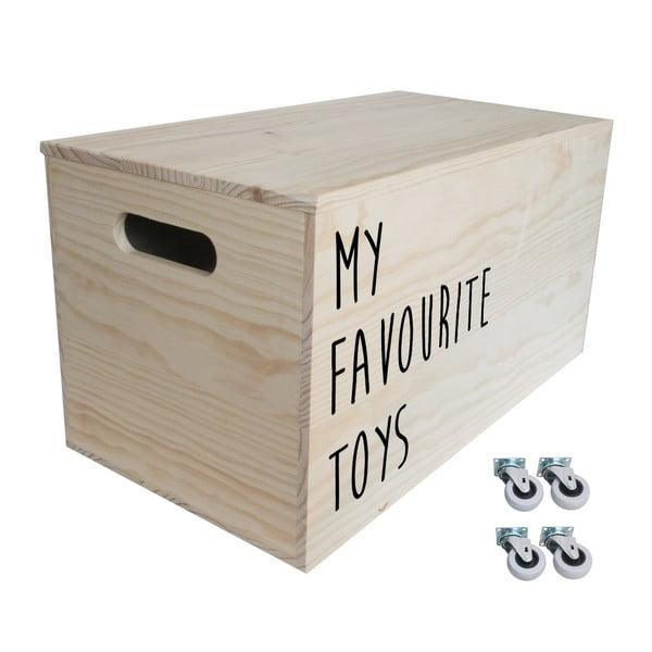 Box na kolečkách Toys, 52x27x27 cm