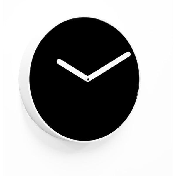 Nástěnné hodiny Be, černé