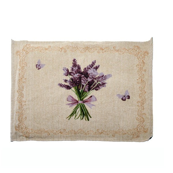 Suport textil pentru farfurie Dakls Easter Deco Levander Simple, 48 x 33 cm