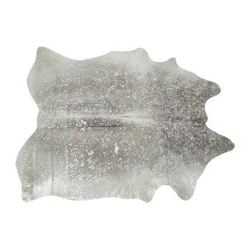 Covor din piele de vacă Kare Design Hide, gri de la Kare Design