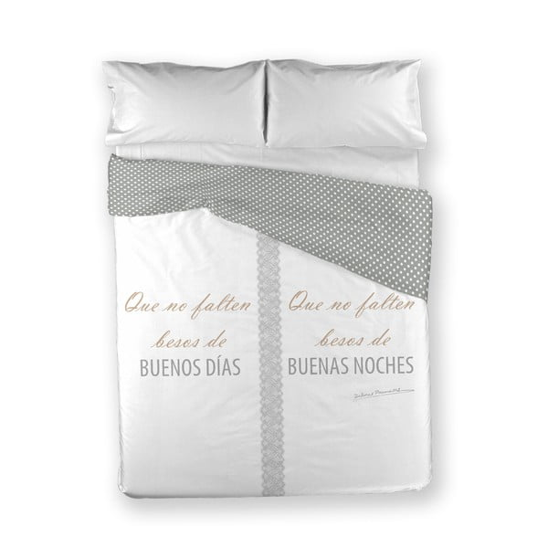 Povlečení Buenos Dias Gris, 200x200 cm