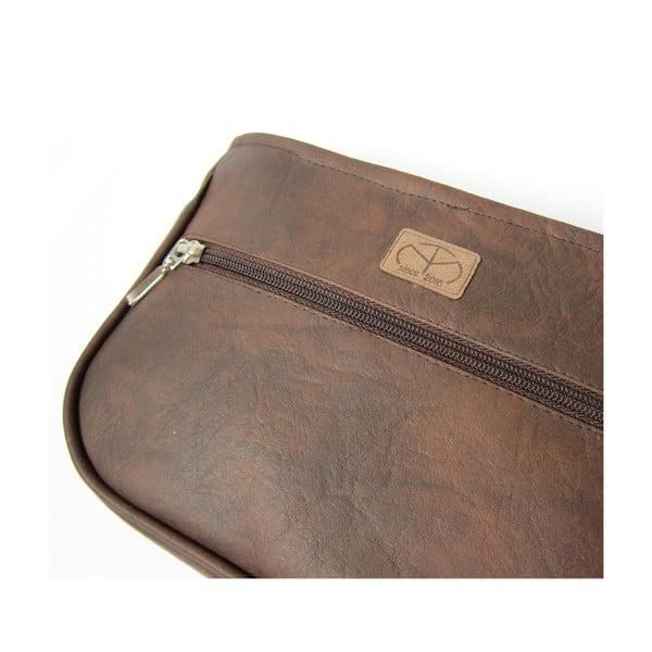 Taška TMarcela, Bag in Bag sešívaná Dark Chocolate