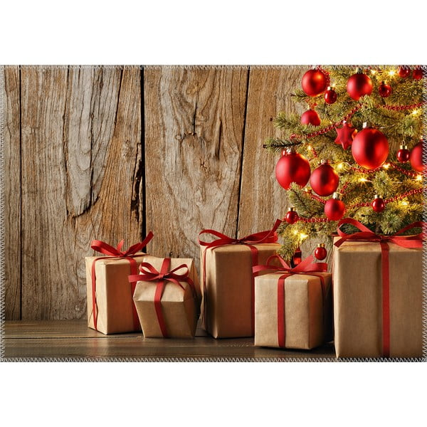 Koberec Vitaus Christmas Period Rustic Gifts, 50 x 80 cm