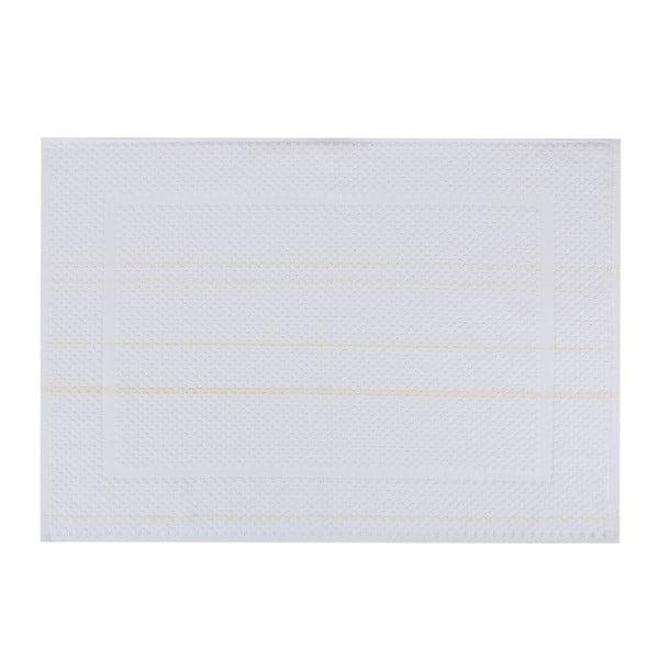Bílá koupelnová předložka Betty,50x70cm