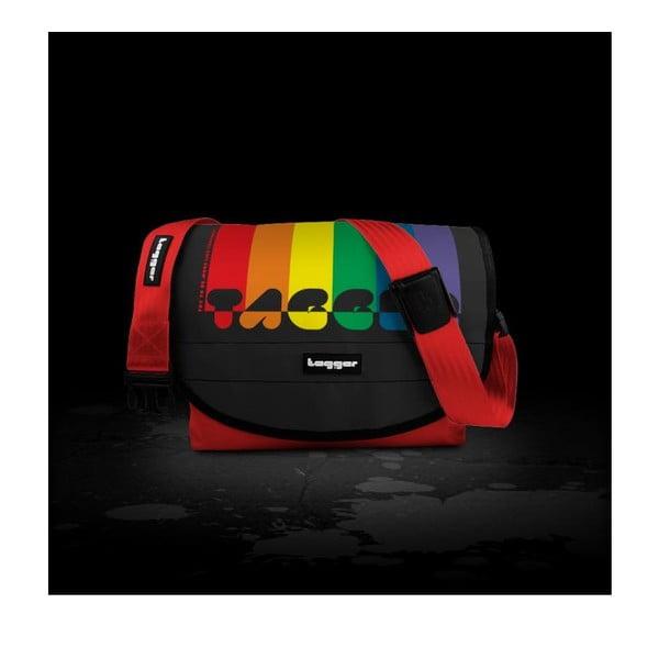 Brašna Tagger Crew Messenger, Rainbow