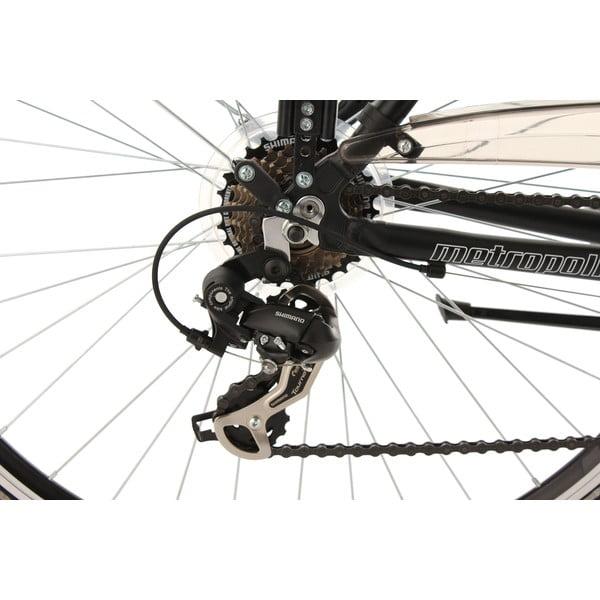 "Kolo Metropolis Bike Black, 28"", výška rámu 53 cm"