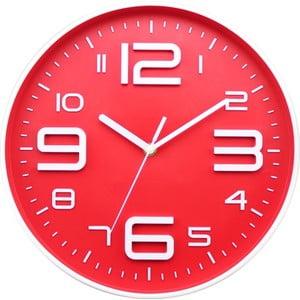 Hodiny Red Dial, 35 cm