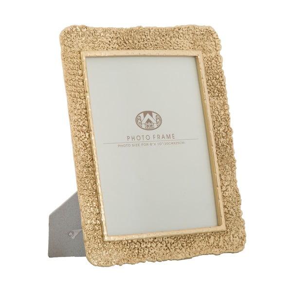 Ramka na zdjęcie w kolorze złota Mauro Ferretti, 27,5x32,5 cm