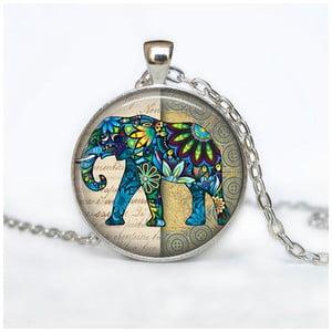 Dámský řetízek s přívěskem Butoni de Camasa Happy Hippie Elephant