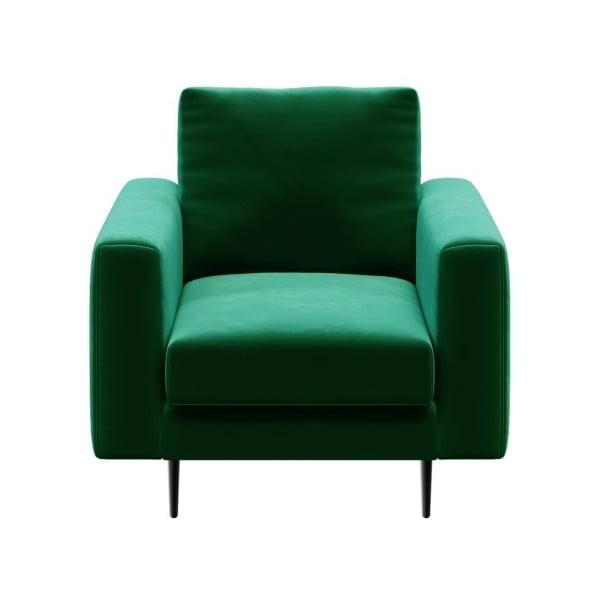 Levie sötétzöld fotel - devichy