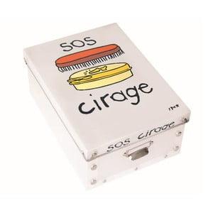 Úložný box na kartáče Incidence SOS Cirage