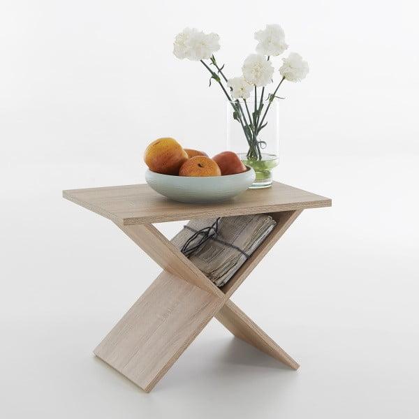 Odkládací stolek v dekoru dubu 13Casa Stark