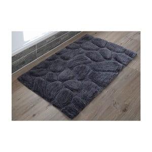 Koupelnová předložka Steine Anthracite, 60x100 cm