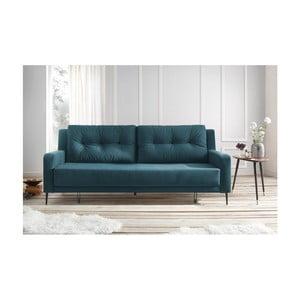 Canapea extensibilă Bobochic Bergen, albastru