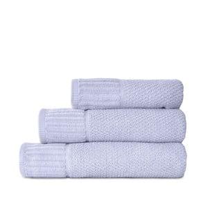 Sada 3 tyrkysových ručníků Artex Suprem