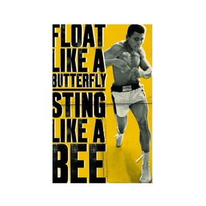 Fotoobraz Muhammad Ali-Float like a butterfly