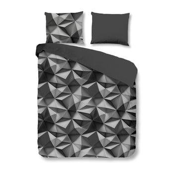 Lenjerie De Pat Müller Textiels Geo, Bumbac, 240 X 200 Cm, Gri Antracit