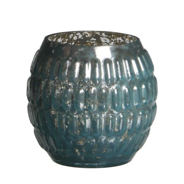 Stojan na svíčku Tavira Blue, 7 cm