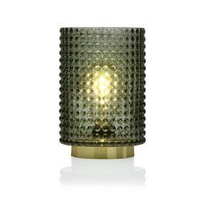 Zelená skleněná olejová LED lampa Versa Relax, ⌀ 12 cm
