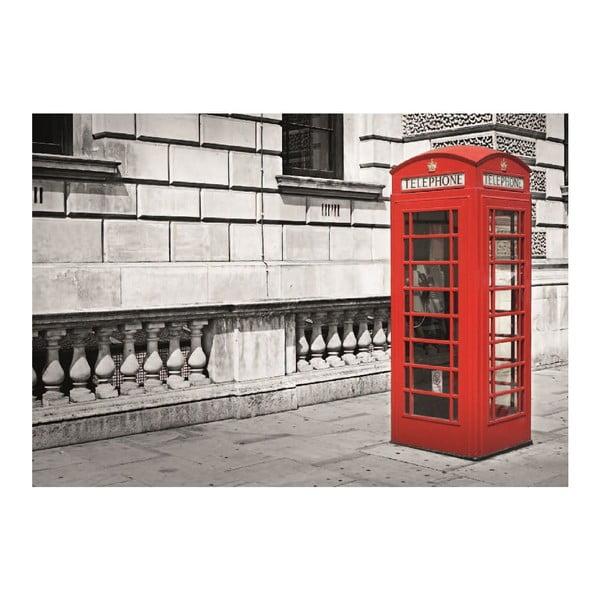 Velkoformátová tapeta Londýnská budka, 360x253 cm