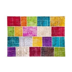 Vlněný koberec Allmode Kare, 150x80 cm