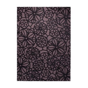 Koberec Society Circle Brown 160x230 cm