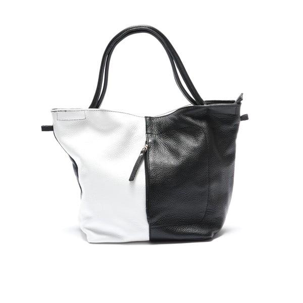 Kožený batoh Mangotti 2038, černý