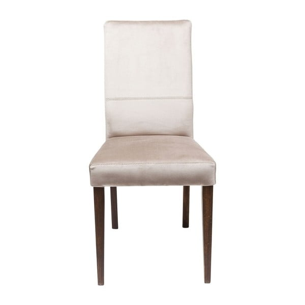 Sada 2 stříbřitě šedých jídelních židlí s nožičkami z bukového dřeva Kare Design Mara