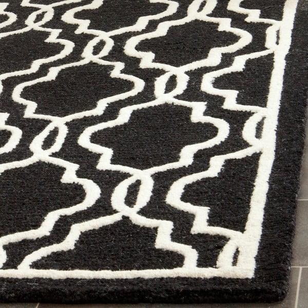 Vlněný koberec Safavieh Elle Night, 121x182 cm