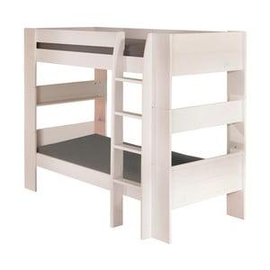 Bílá patrová postel 13Casa Grow, 90x200cm