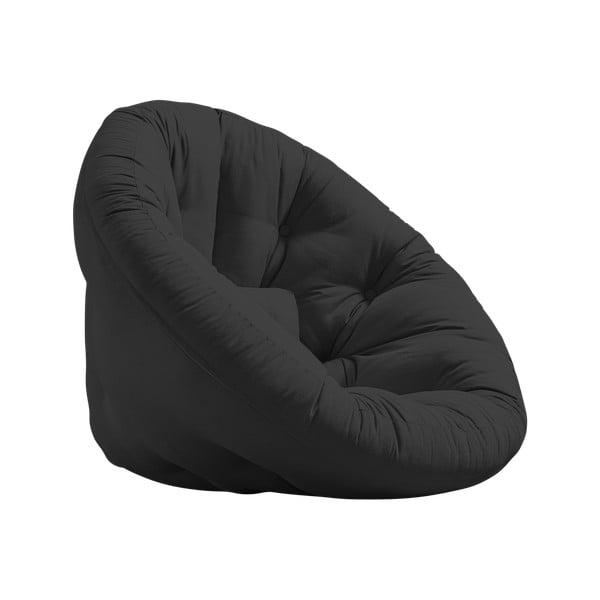 Nido Dark Grey kinyitható fotel - Karup Design