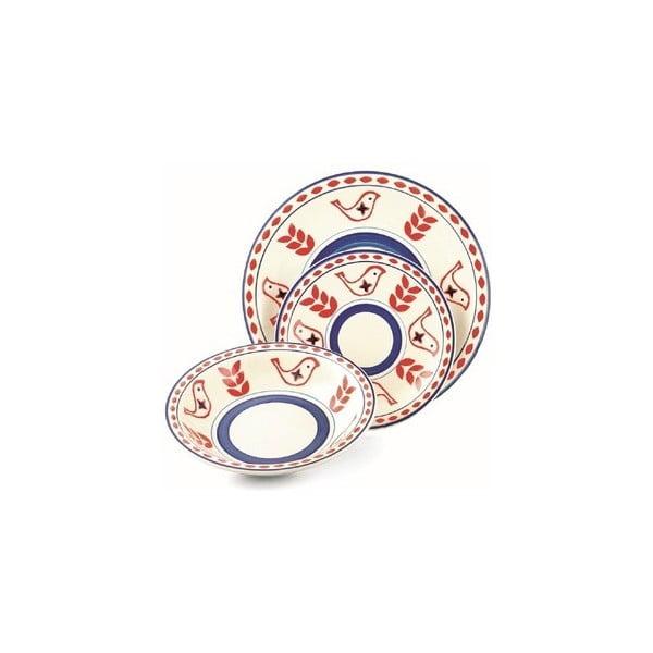 Hluboký talíř Arca fialovomodrý, 21 cm
