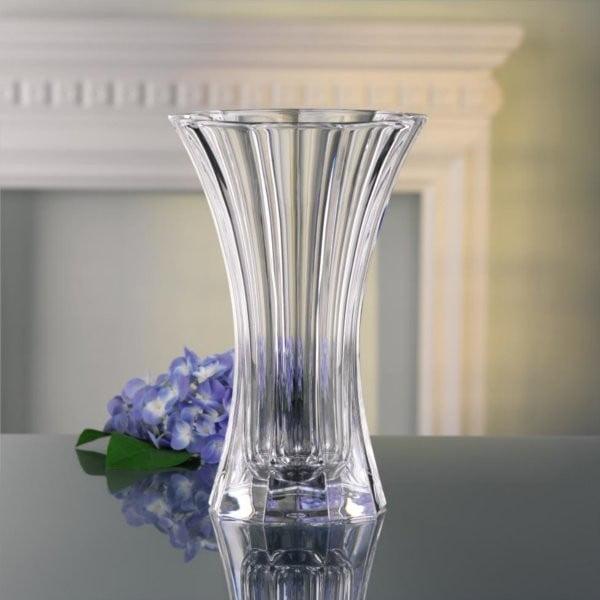 Váza z křišťálového skla Nachtmann Saphir, výška30 cm