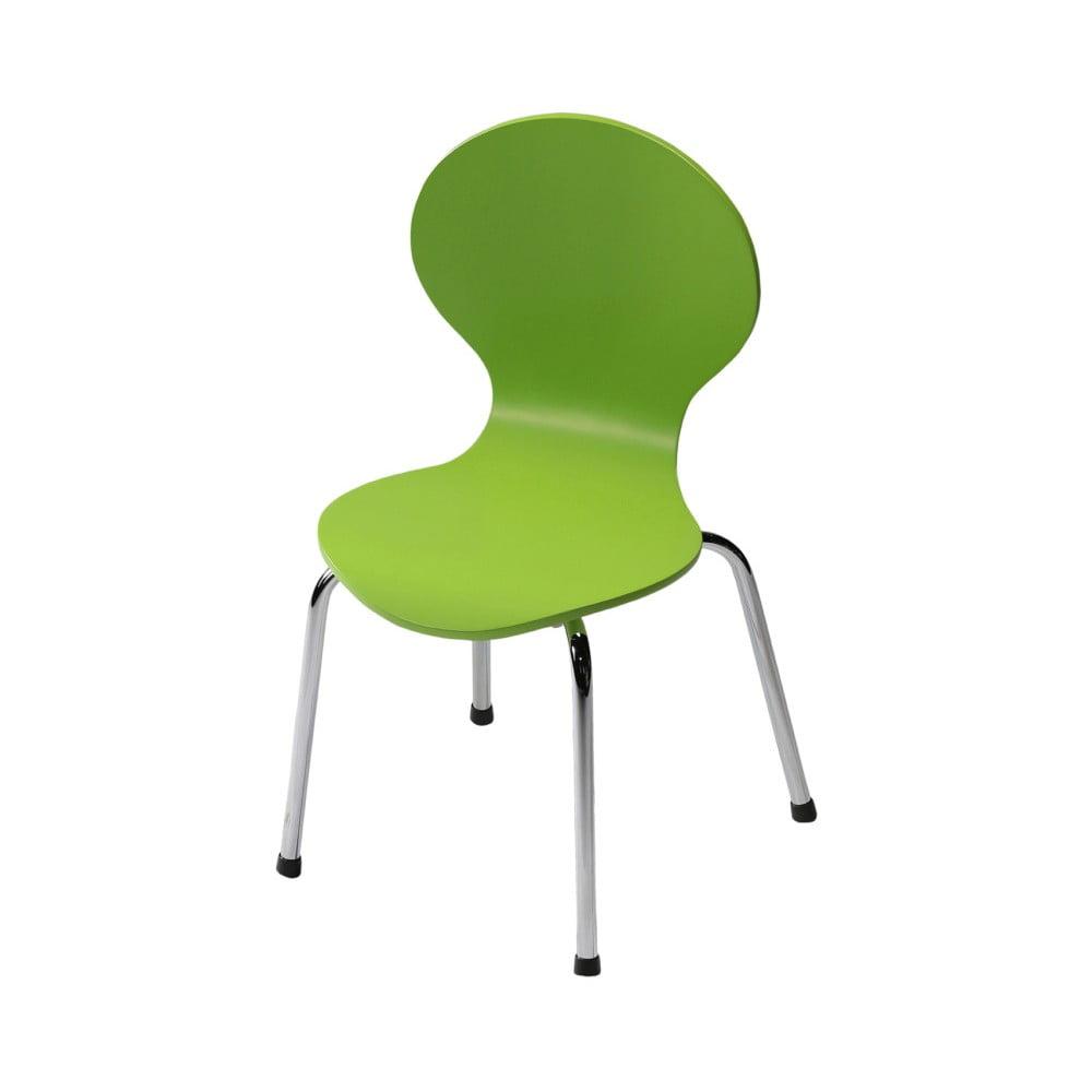 Dětská zelená židle DAN-FORM Denmark Child