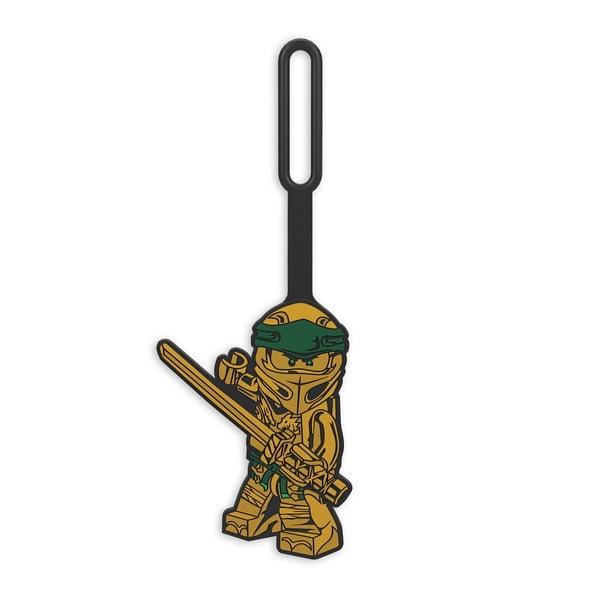 Jmenovka na zavazadlo LEGO® Gold Ninja