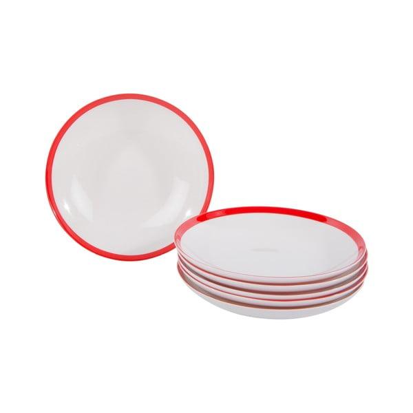 Sada 18 porcelánových talířů China